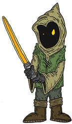 Jedi Jawa by Lordwormm