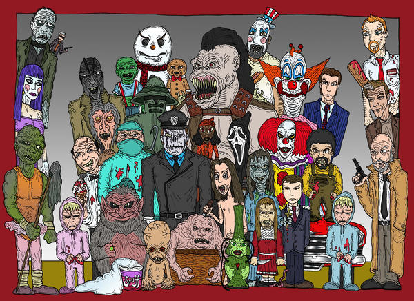 Icons Of Horror: The Sequel By Lordwormm On DeviantArt