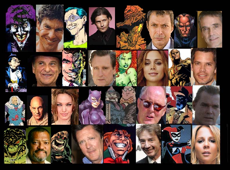 Batman Movie Cast by Lordwormm
