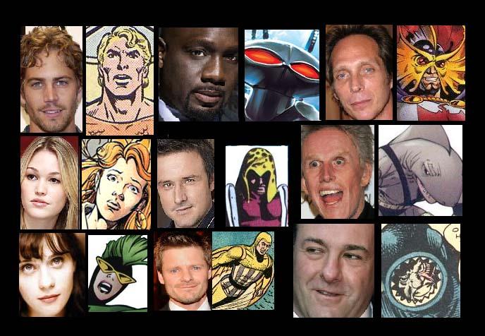 Aquaman Movie Cast by Lordwormm