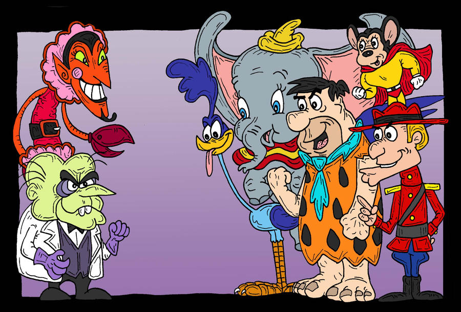 Toon Multiverse 6 by Lordwormm