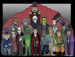 Icons of Horror 3 by Lordwormm