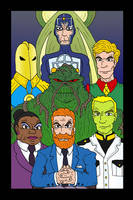 DC Illuminati by Lordwormm