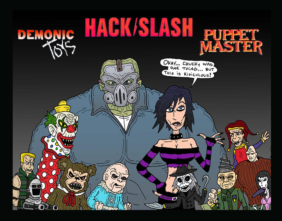 Demon Freddy Toys : Hackslash playtime by lordwormm on deviantart