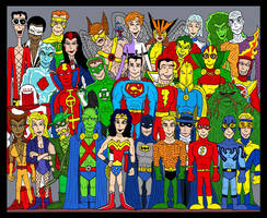 DC Group by Lordwormm