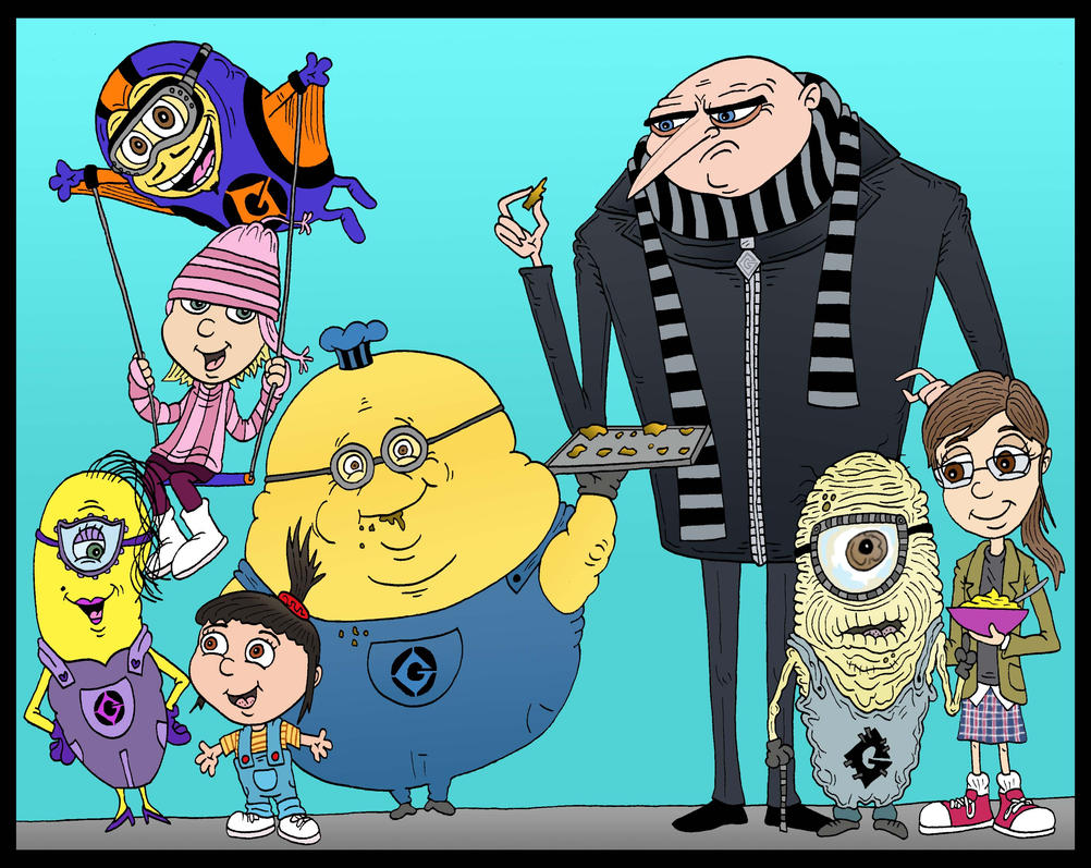 Gru's New Minions, Plus his First by Lordwormm