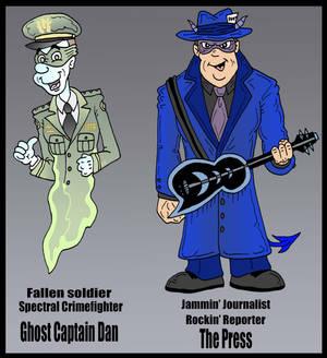 The Press and Ghost Capt. Dan