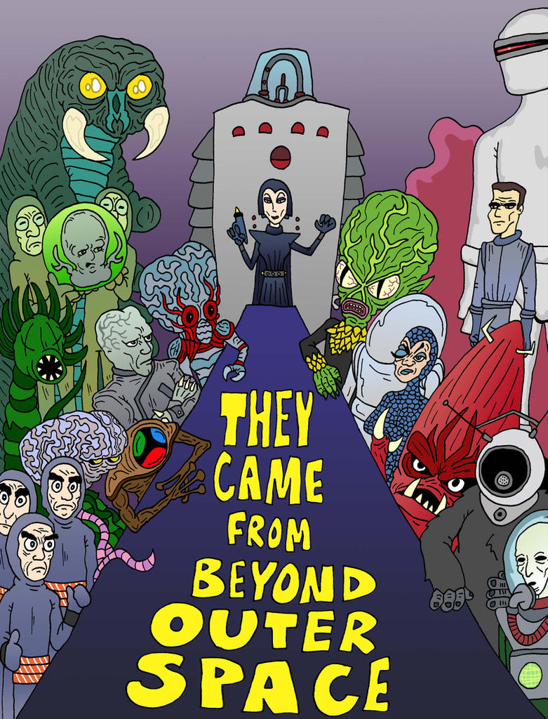 Demon Freddy Toys : They came from beyond outer space by lordwormm on deviantart