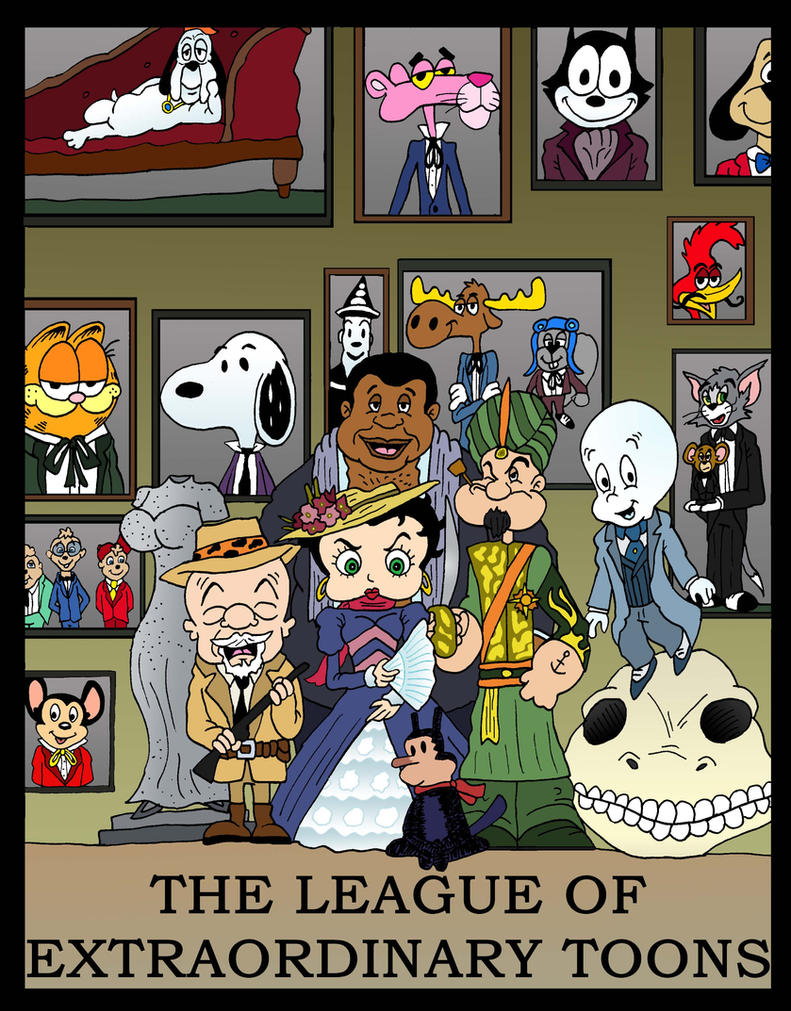 League of Extraordinary Toons by Lordwormm