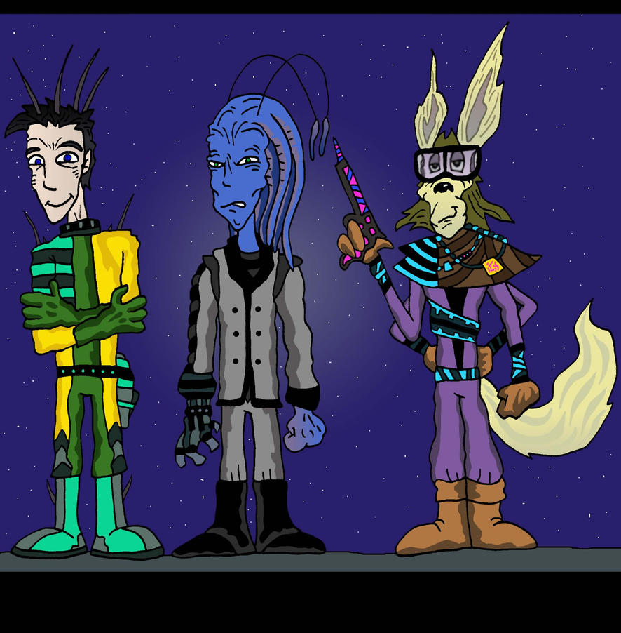 ACEofINtuiton's aliens by Lordwormm