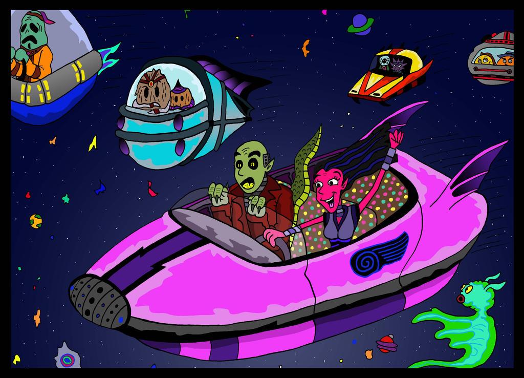 Interstellar Joyride by Lordwormm