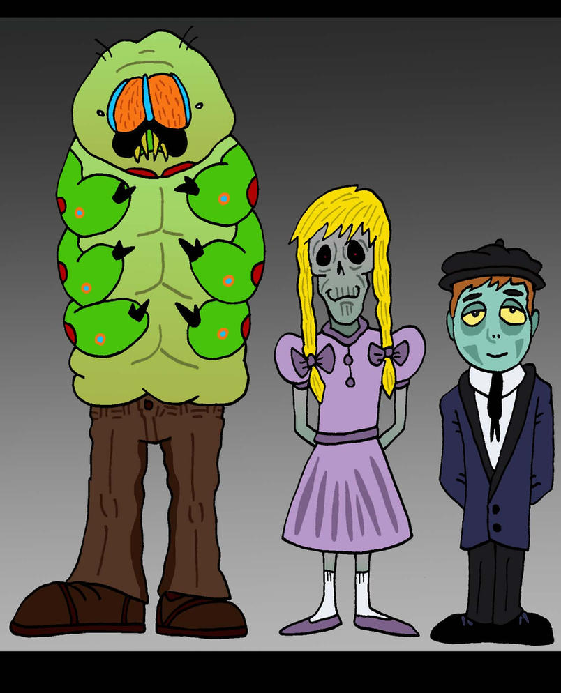 My Cryptids by Lordwormm