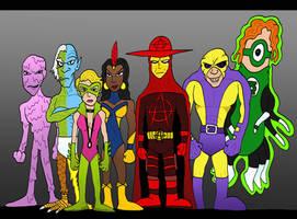 Justice League Alternates