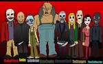 Modern Horror Line Up
