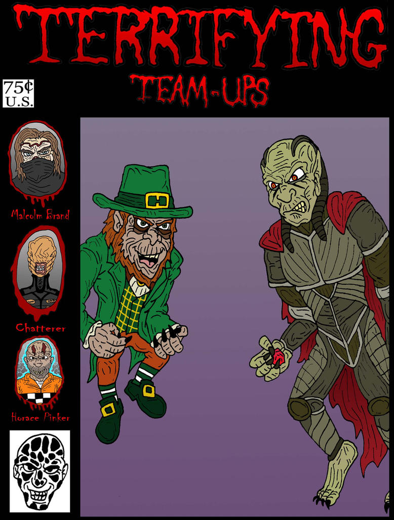 Terrifying Team Up: Leprechaun VS Wishmaster by Lordwormm