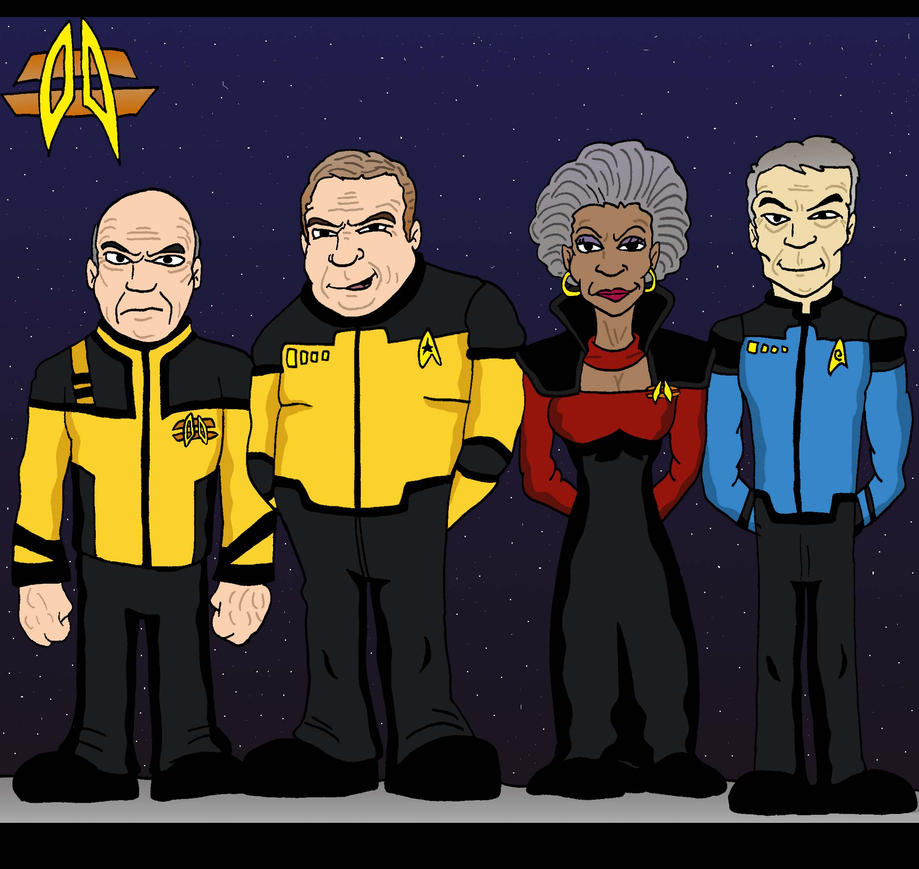 STAR TREK by Lordwormm
