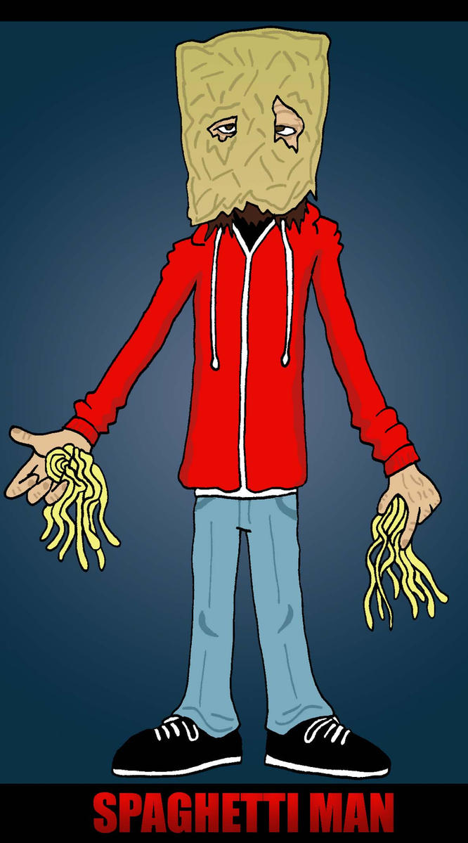 Spaghettiman by Lordwormm