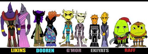 Original Alien Races