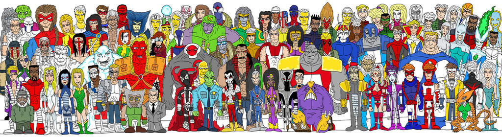 IMAGE Comics by Lordwormm