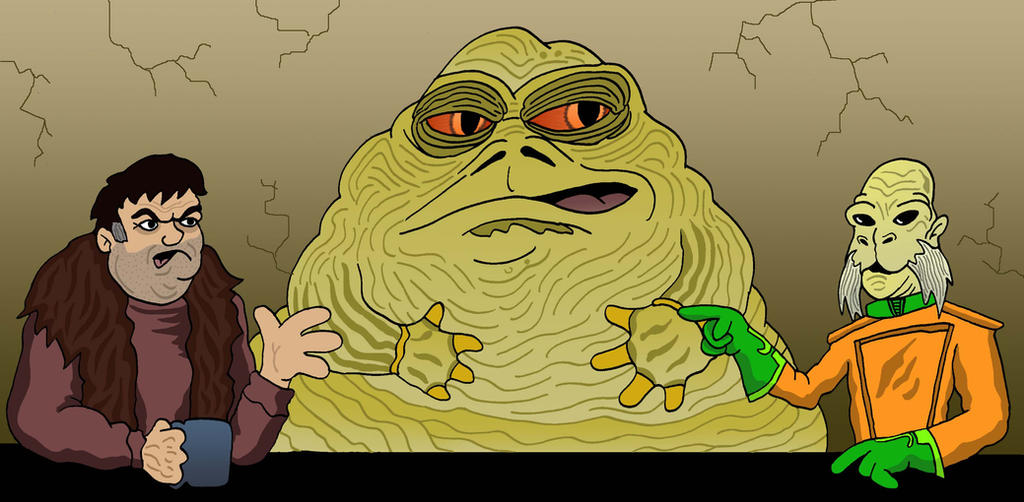 Jabba Cubed by Lordwormm