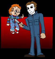 Michael Myers VS Chucky