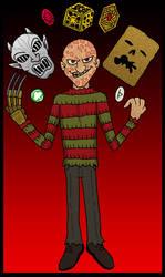 Freddy gathers power...
