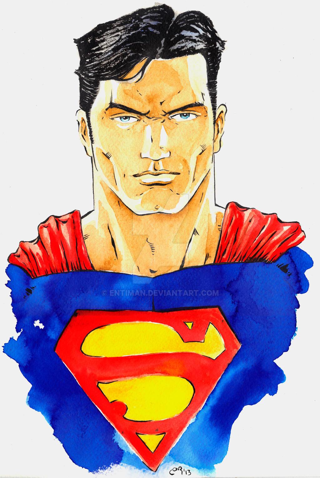 Man Of Steel by Entiman