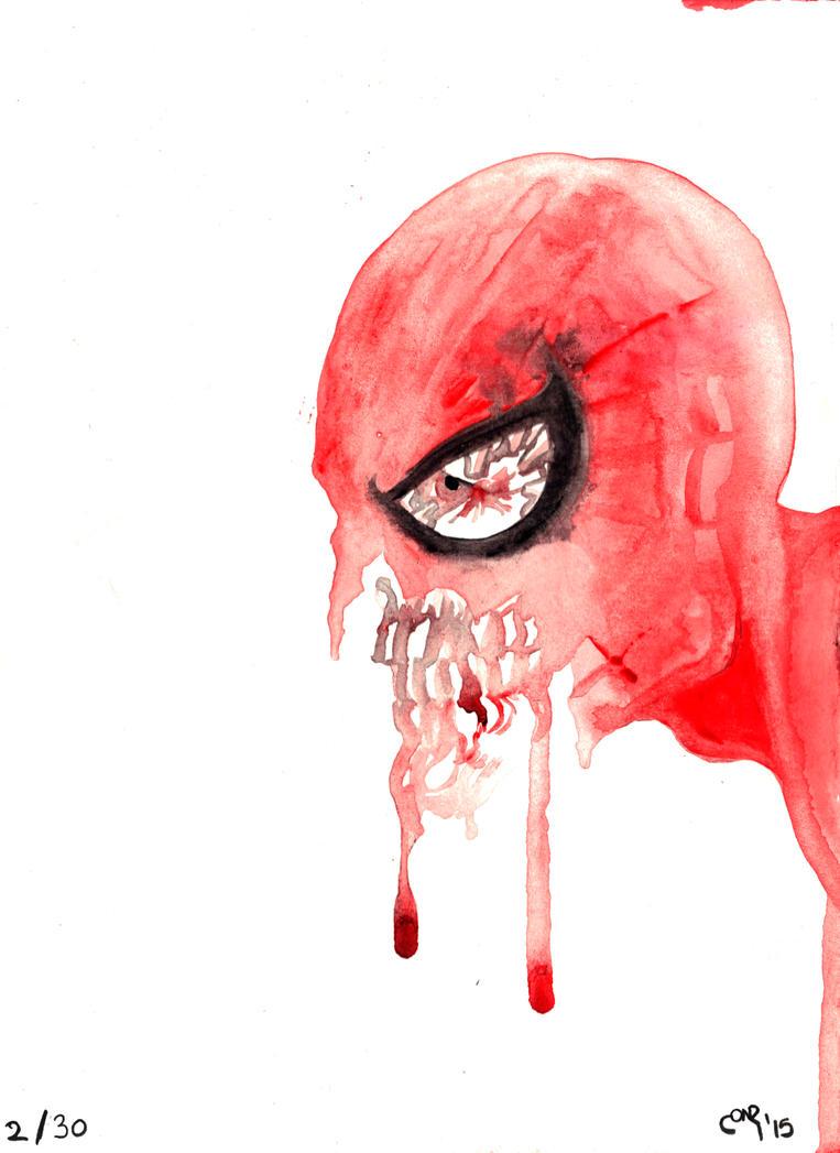 Zombie Spider-man by Entiman