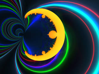 Moon magnetism by Edo555