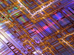 Inside of electronics