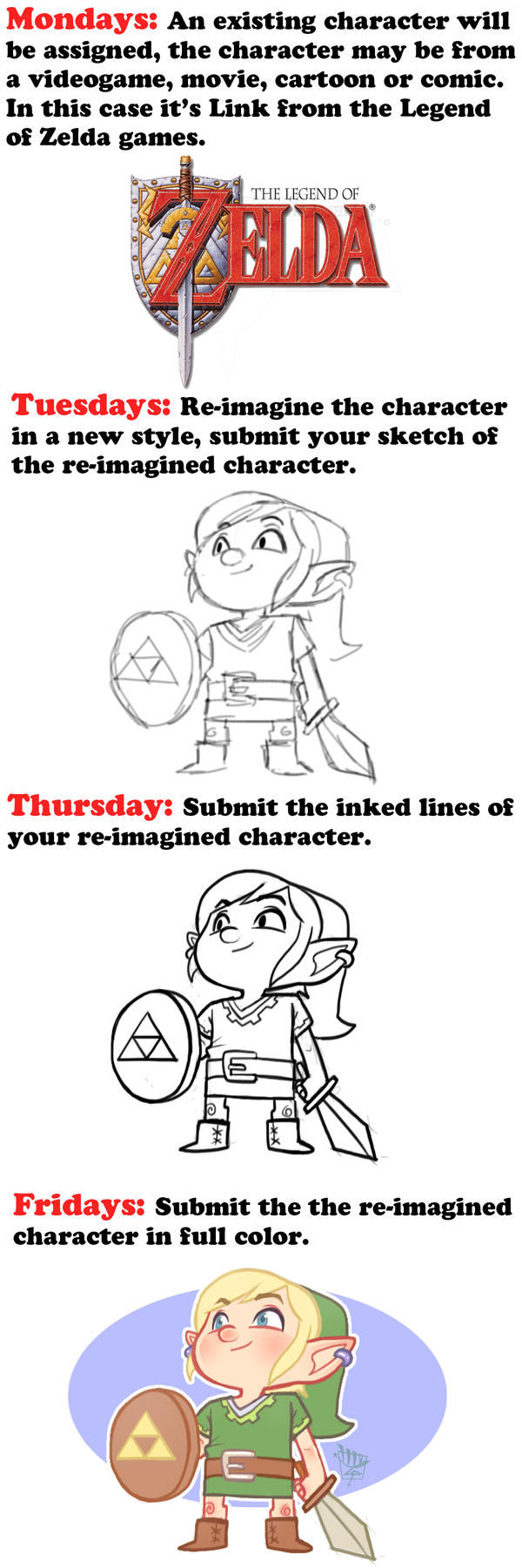 Re-Imagine Challenge Example by LuigiL