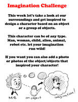 Imagination Challenge week by LuigiL