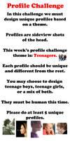 Profile Challenge Week by LuigiL