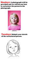 Caricature Challenge Week by LuigiL