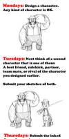 Buddy Challenge Week by LuigiL