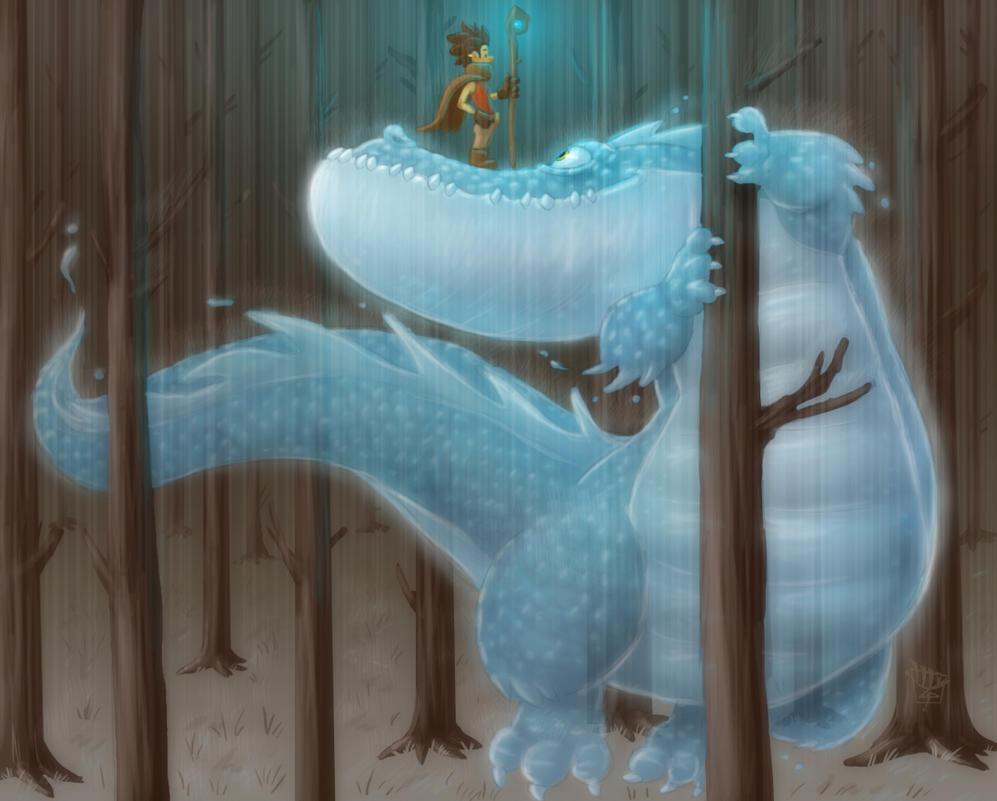 The Rain Spirit by LuigiL