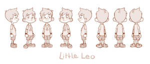 Little Leo Turn Around by LuigiL