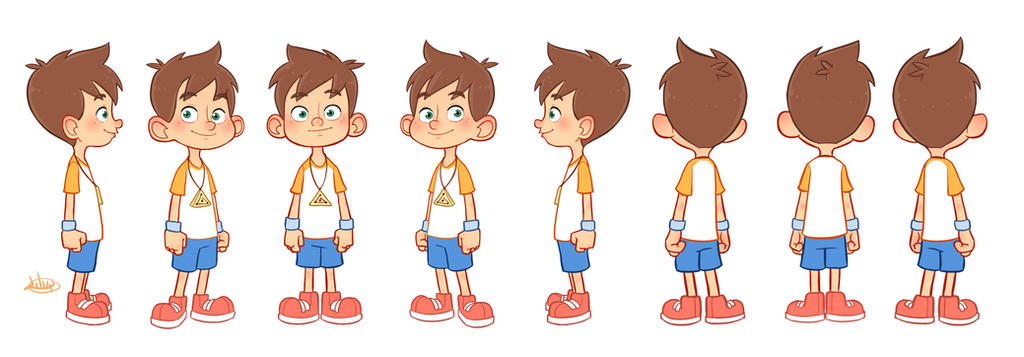 Little Leo Turn Around Color by LuigiL