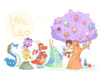 Ice Cream Tree by LuigiL