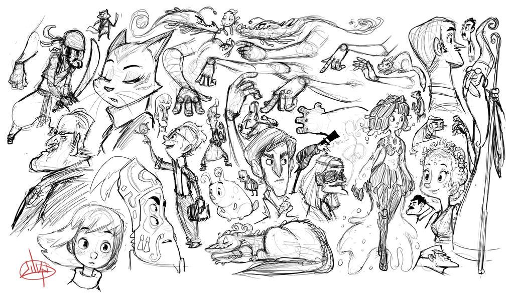 Sketch Fill In by LuigiL