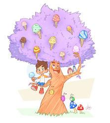 Ice Cream Fun by LuigiL