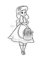 Garden Girl Sketch by LuigiL