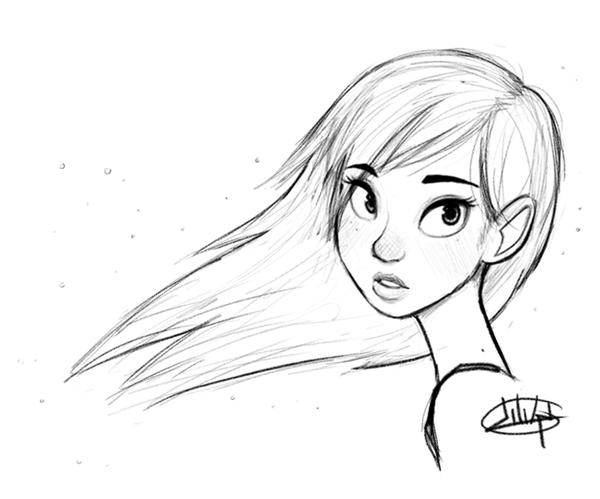 Animated Mirmaid Coloring Pages