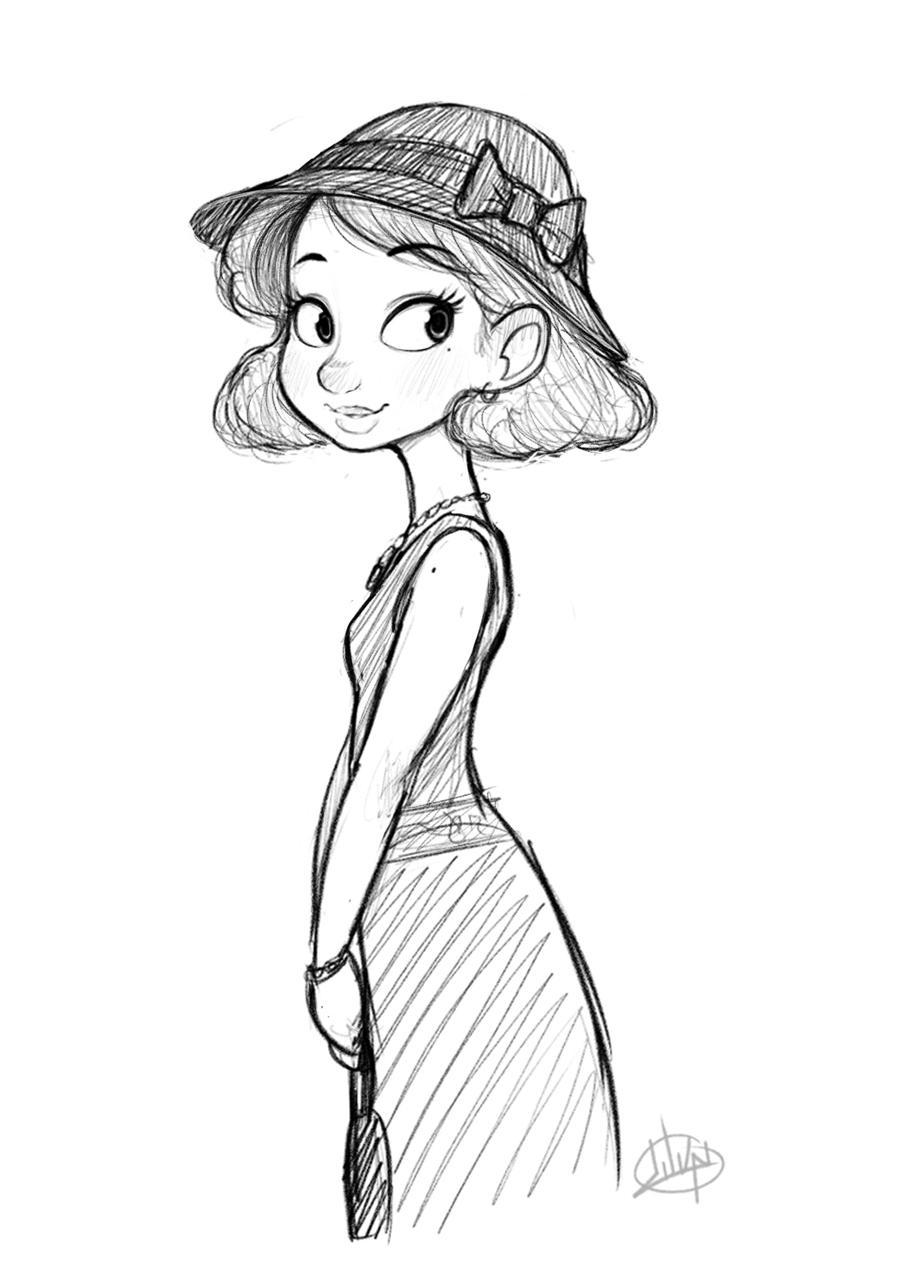 Monday Dress by LuigiL