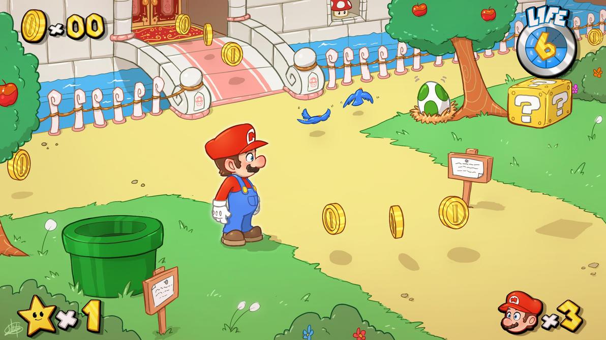 Super Mario Universe by LuigiL