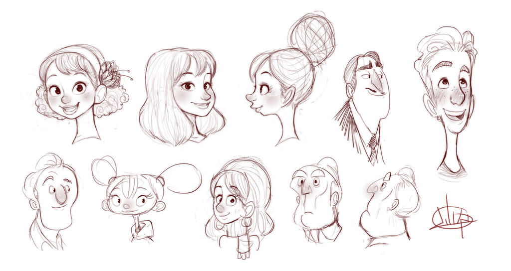Morning Sketches by LuigiL