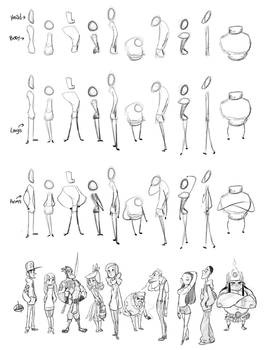 Character Sketch Process