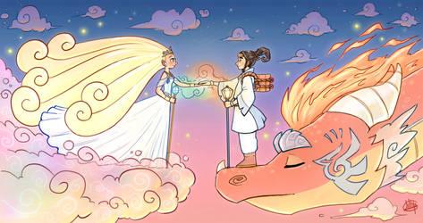 Where Sky Meets Heaven by LuigiL