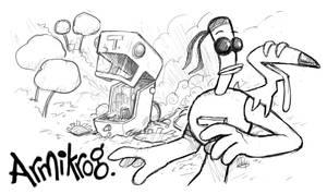 Armikrog Kickstarter Support by LuigiL