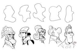 Shape Challenge August 2013 by LuigiL